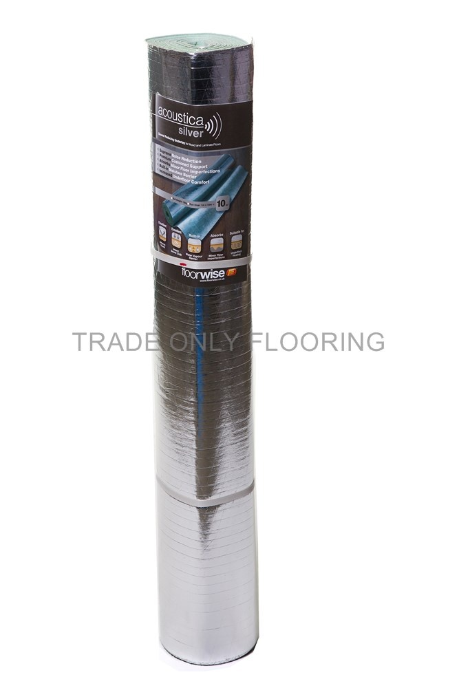 Acoustica Silver - Trade Only Flooring Supplies